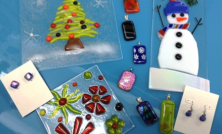 Fused-Glass Workshop for One or Two at Creations Unique Studio (Up to 49% Off)