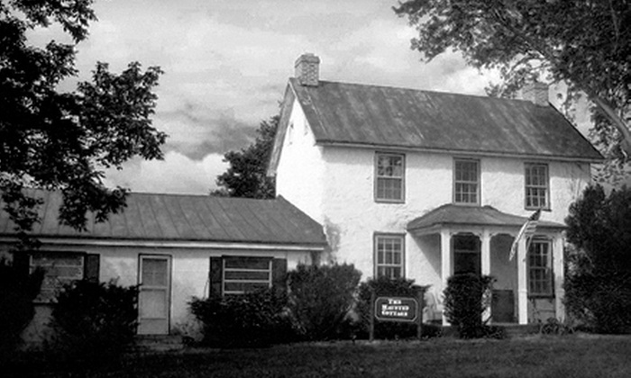 The Haunted Cottage - Harpers Ferry: Grand Tour, Workshop, and Ghost Hunt or Overnight Ghost Hunt at The Haunted Cottage in Harpers Ferry (Up to 56% Off)