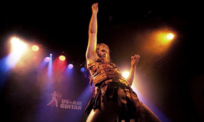 US Air Guitar National Finals - House of Blues Sunset Strip: $15 to See US Air Guitar National Finals at House of Blues Sunset Strip on Saturday, August 17 (Up to $29 Value)