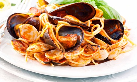 $15 for $30 Worth of Italian Cuisine and Drinks for Two or More at Caffe Dolce Vita