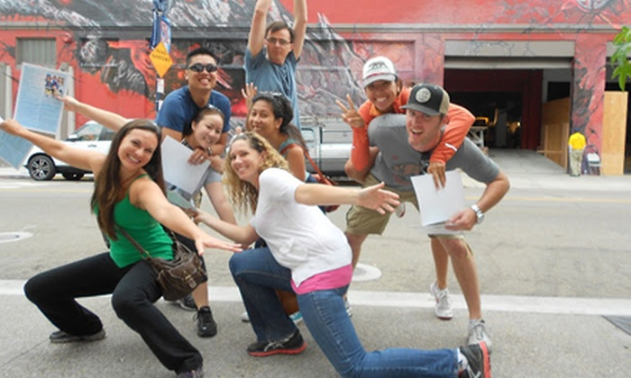 Where You Want to Be Tours - Petco Park: Urban Challenge/Scavenger Hunt for Two, Four, Six, or Eight from Where You Want to Be Tours (Up to 69% Off)