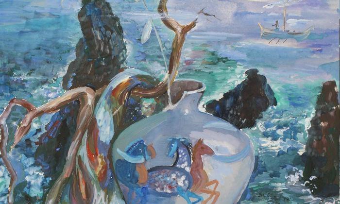 Golden Key Art - Tarzana: One-Hour Painting Lesson at Golden Key Art (56% Off)