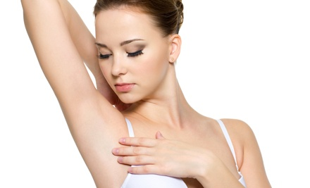 Six Laser Hair-Removal Treatments on a Small or Medium Area at Village Health Spa (Up to 84% Off)