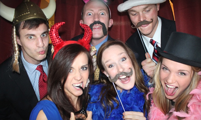 Phancy Photo Booth - Collierville: Two- or Four-Hour Photo-Booth Rental from Phancy Photo Booth (Up to 51% Off)