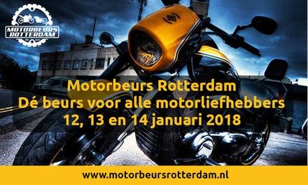 Tickets voor de Motorbeurs Rotterdam op 12 t/m 14 januari 2018 in Ahoy