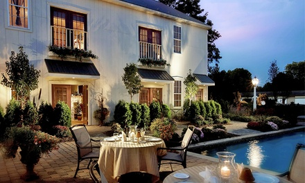 Stay with Daily Champagne or Wine and Salon or Spa Credits at The Inn at Leola Village, PA. Dates into March 2018.