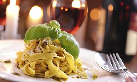 Menú italiano para 2 o 4 con entrante, principal, postre y botella de lambrusco o bebida desde 19,90 € en La Coloratta