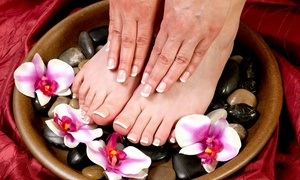 Michelle's Everlasting Beauty: CC$30 for a Shellac Manicure and a Deluxe Pedicure at Michelle's Everlasting Beauty in Oakville (CC$60 Value)