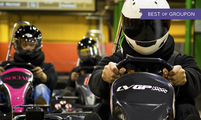 Lehigh Valley Grand Prix, LLC - Southside: One or Two Go-Kart Races at Lehigh Valley Grand Prix (Up to 56% Off)