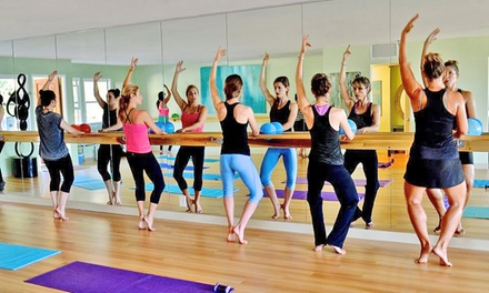 5 Barre Fitness Classes or One Month or Two Weeks of Unlimited Barre Classes at Desa Prana (Up to 72% Off)