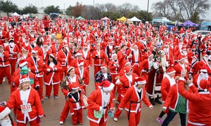 Santa Run Texas: $33 for Santa Run Texas 5K Race or 1-Mile Walk on Saturday, December 12, at 8 a.m. ($45 Value)