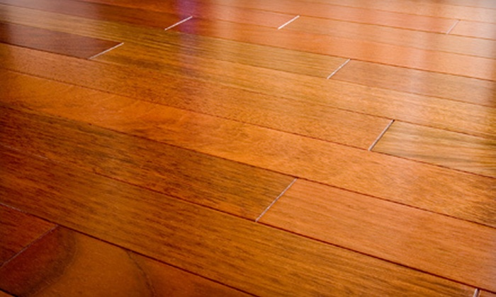 Machen's Floor Specialists - Brentwood Villa: Light or Deep Hardwood-Floor Sanding, Staining, and Refinishing for Up to 200 or 500 Square Feet from Machen's Floor Specialists (Up to 76% Off)