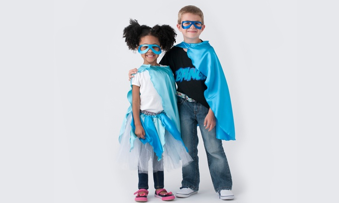 SuperflyKids: Custom Superhero Capes and Outfits or Custom Tutu at SuperflyKids (Up to 55% Off). Three Options Available.