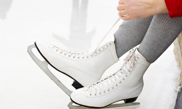 Swonder Ice Arena - Evansville: Ice Skating for Two, Four, or Six at Swonder Ice Arena (Up to 54% Off)