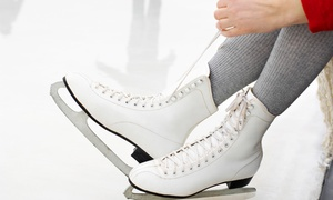 Swonder Ice Arena (G1): Ice Skating for Two, Four, or Six at Swonder Ice Arena (Up to 54%  Off)