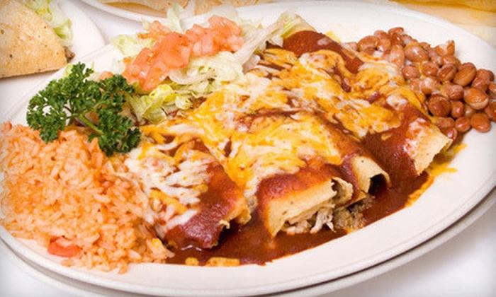 Taqueria La Taquiza - Willow Glen: Mexican Meal for Four or $10 for $20 Worth of Mexican Cuisine at Taqueria La Taquiza