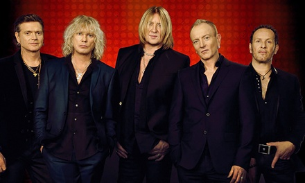 Def Leppard at Rexall Place on Thursday, April 23, at 7:30 p.m. (Up to 41% Off)