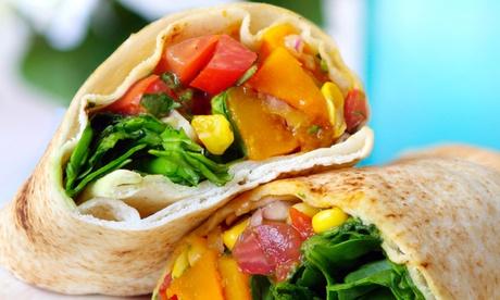 Menú vegano para dos o cuatro con entrante, principal, postre y bebida desde 16,95 € en Alameda Rock