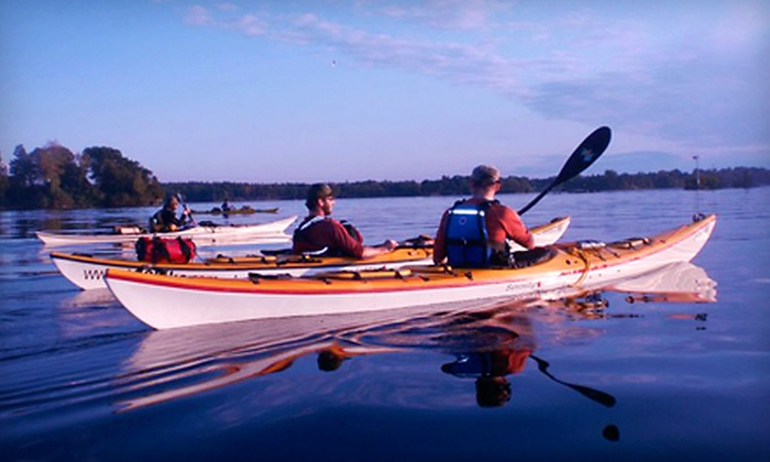 1000 Islands Kayaking - Gananoque: Full-Day Kayak Rentals for Two or Four from 1000 Islands Kayaking (Up to 56% Off)