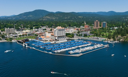 Stay at The Coeur d'Alene Resort in Coeur d'Alene, ID, with Dates into April