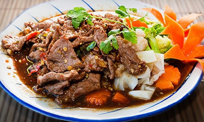 Taste of Thai - Irvington: $20 for $40 Worth of Thai Food at Taste of Thai