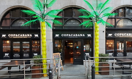 Brazilian Lunch with Wine for One, Two or Four at Copacabana Bar and Restaurant