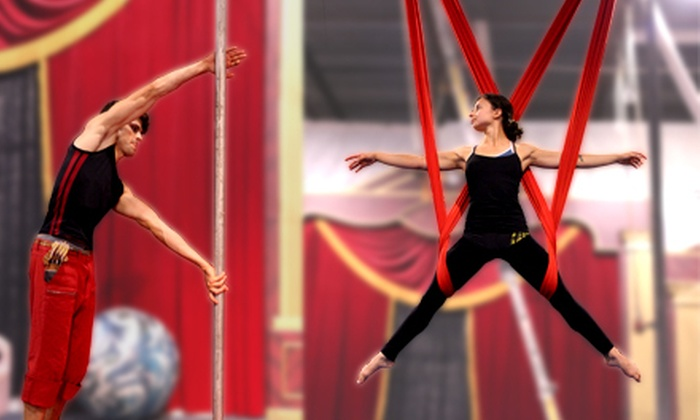 Wonderful World of Circus - Markham: Two Introductory or Intermediate Circus-Arts Classes for One or Two at Wonderful World of Circus (Up to 68% Off)