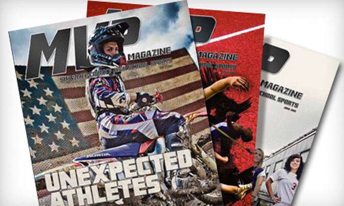 """""""MVP Sports Magazine"""" - Topeka / Lawrence: One- or Two-Year Subscription to """"MVP Sports Magazine"""" (Up to 52% Off)"""