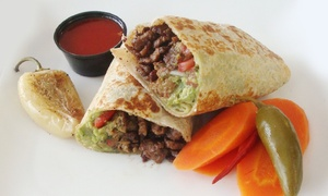 La Torta Cafe: Mexican Food at La Torta Cafe (40% Off). Two Options Available.