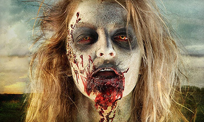 Zombie Apocalypse - Lehi: General Admission for Two, or VIP Passes for Two or Four with T-Shirts to Zombie Apocalypse (Half Off)