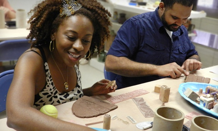 Zen and Now Clay Studio - From Home: Pottery Class for One, Two, or Four, or Date-Night Class for Two at Zen and Now Clay Studio in Tucker (Up to 58% Off)