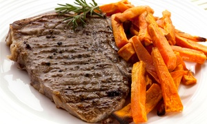 KJ's Restaurant: American Cuisine at KJ's Restaurant (45% Off). Two Options Available.