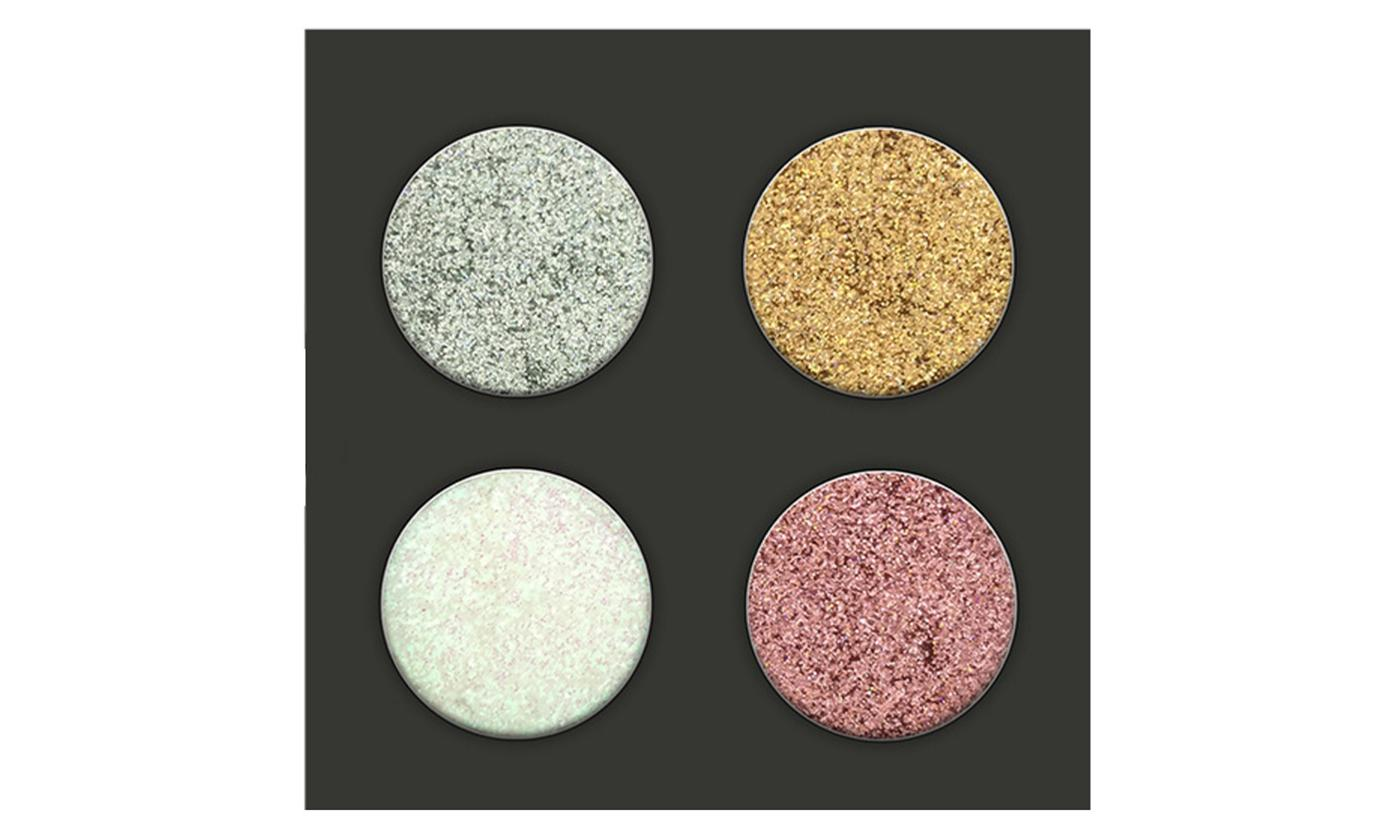 One, Two or Three Glitter Sparking Four-Piece Eyeshadow Palettes