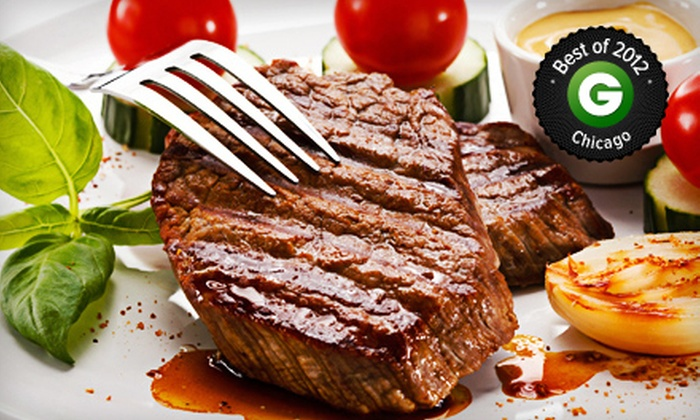 Luby's Pub & Steakhouse - Tinley Park: Pub and Steak-House Food for Dinner at Luby's Pub & Steakhouse (50% Off). Two Options Available.