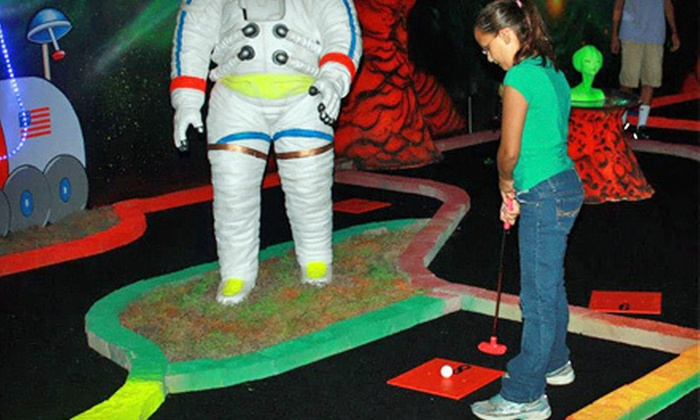 Laser Planet - Waterbury: Four or Six Rounds of Mini Golf at Laser Planet (Up to 52% Off)