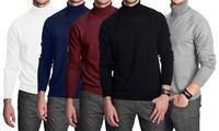 Opinioni  Coupon Abbigliamento alla Moda Groupon.it 1 o 2 dolcevita da uomo, disponibile in 5 colori e 3 taglie