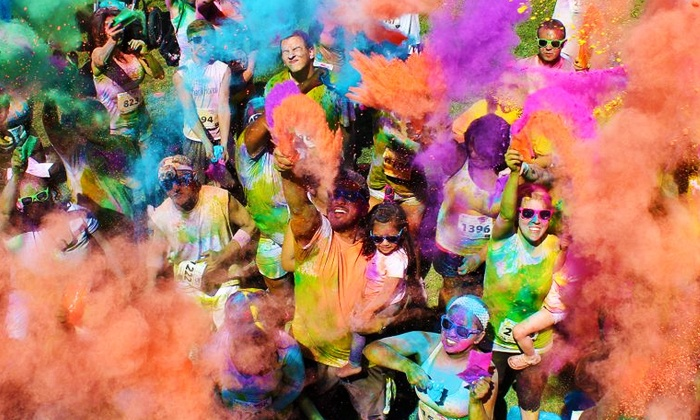 Color Me Rad - Kern County Fairgrounds: $29 for Color Me Rad 5K Entry on Saturday, March 26 ($55 Value)