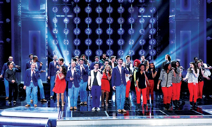 """""""The Sing-Off"""" Live Tour - Louisville Palace: """"The Sing-Off"""" Live Tour at Louisville Palace on March 16 at 6 p.m. (Up to 57% Off)"""