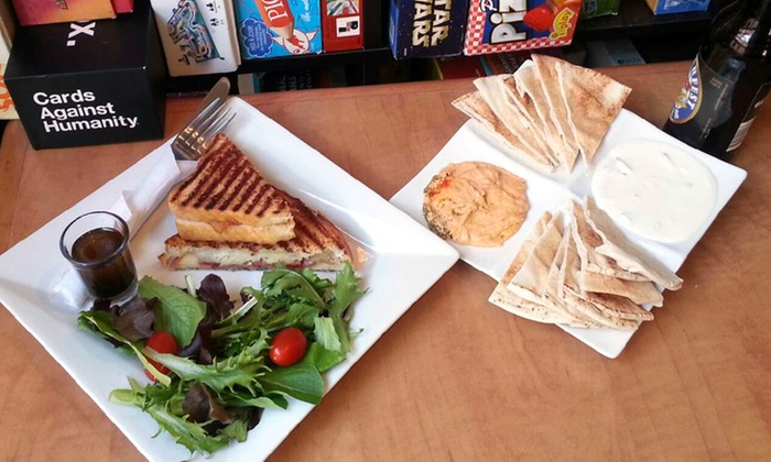 Monopolatte - Centretown - Downtown: Lunch or Dinner for Two PlusAccess toBoard Games at Monopolatte (Up to 51% Off)