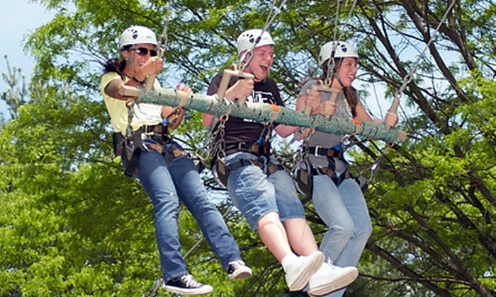 Terrapin Adventures - Terrapin Adventures: Zipline, Ropes Course, and Other Outdoor Attractions at Terrapin Adventures (Up to 50% Off). Two Options Available.