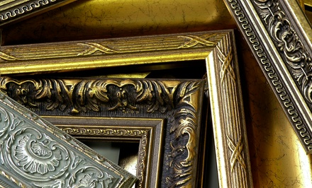 $40 for $100 Worth of Custom Framing at The Great Frame Up. Three Locations Available.