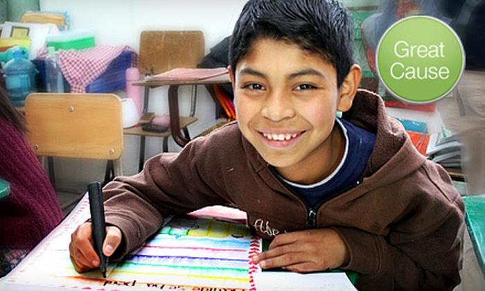 Cooperative for Education - Cincinnati: If 50 People Donate $12, Then Cooperative for Education Can Distribute School Supplies to 192 Guatemalan Children