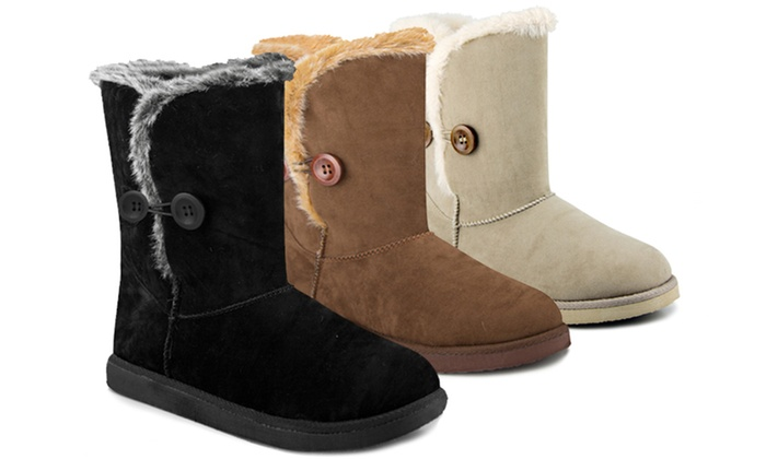 143 Girl Addy Button Boots: 143 Girl Addy Button Boots in Black, Chestnut, or Tan. Free Shipping and Returns.