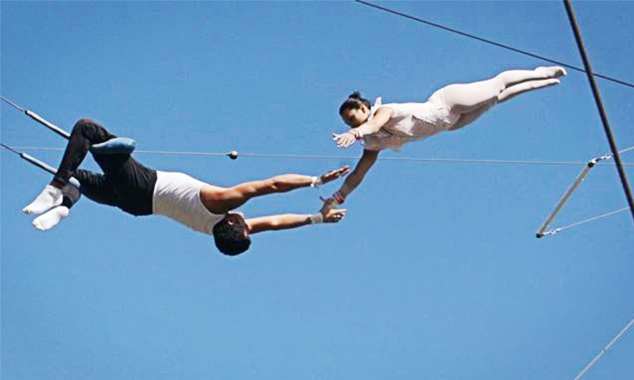 Gaona's Trapeze Workshop - Woodland Hills: Trapeze Class for One or Two at Richie Gaona Flying Trapeze in Woodland Hills (Up to 52% Off)