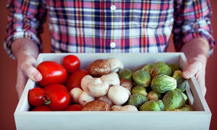 Betty's Organics - North Bay: $18 for One Box of Organic Fruits and Vegetables Delivered to Your Door from Betty's Organics ($36 Value)