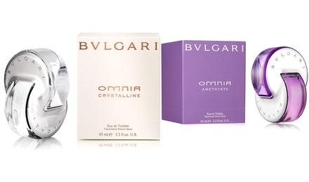 Bvlgari Omnia Amethyste or Crystalline Eau de Toilette; 2.2 Fl. Oz.