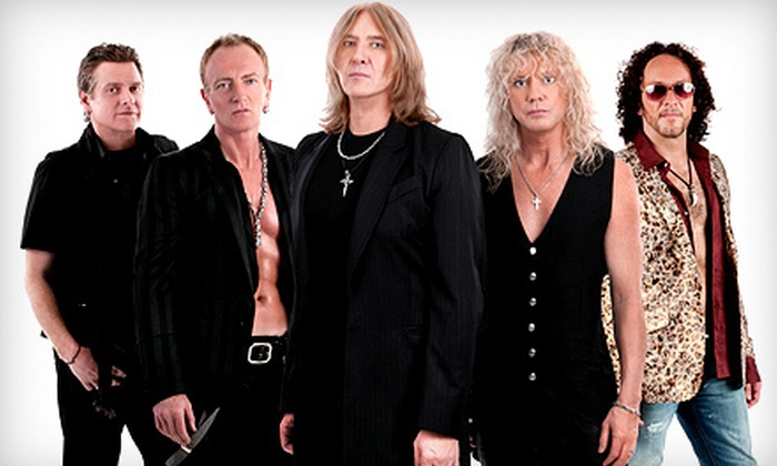 Rock Of Ages Tour with Def Leppard & Poison  - Farm Bureau Live at Virginia Beach: Def Leppard and Poison Concert at Farm Bureau Live at Virginia Beach on August 12 at 7 p.m. (Up to Half Off)