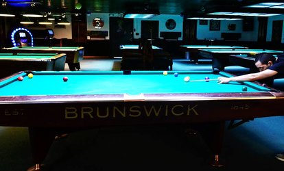 image for Two vouchers, Each Good for One Hour of Billiards for Two or Four at Pocket Billiards (Up to 50% Off)