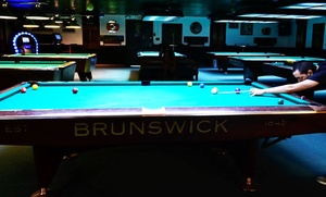 Pockets Billiards: Two Groupons, Each Good for One Hour of Billiards for Two or Four at Pocket Billiards (Up to 50% Off)