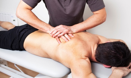 One or Two Deep-Tissue Massages with One Chiropractic Consultation at Taschler Spine & Rehab (Up to 66% Off)